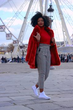 That's the Way Love Goes : Red Faux Fur