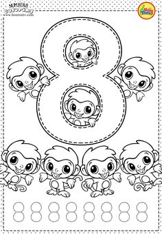 7 Coloring Worksheets for Kids School Number 8 Preschool Printables Free Worksheets and √ Coloring Worksheets for Kids School . 7 Coloring Worksheets for Kids School . Number 8 Preschool Printables Free Worksheets and in Preschool Number Worksheets, Numbers Preschool, Learning Numbers, Preschool Printables, Kindergarten Worksheets, Preschool Activities, Tracing Worksheets, Writing Numbers, Printable Worksheets