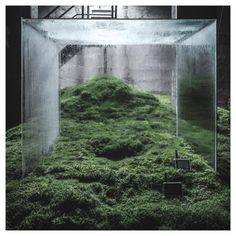 Building with Sun, Water and Air: Hiroshi Sambuichi's Subterranean Installation at The Cisterns in Frederiksberg Instalation Art, Design Jardin, Sustainable Architecture, Land Art, Art Plastique, Botany, Event Design, Art Direction, Techno
