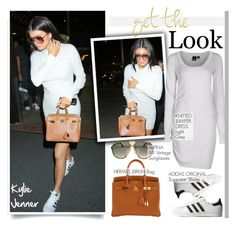 """""""Get the Look: Kylie Jenner"""" by helenevlacho ❤ liked on Polyvore featuring Hermès, Alpina, GetTheLook, StreetStyle, KylieJenner and CelebrityStyle"""