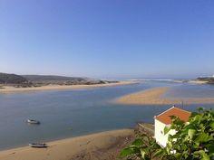 A foz do Rio Mira, Vila Nova de Milfontes By © Lenia Sobral