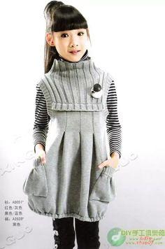 вязаное платье спицами для девочки: 19 тыс изображений найдено в Яндекс.Картинках