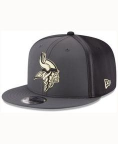 New Era Minnesota Vikings Tactical Camo Band 9FIFTY Snapback Cap - Gray Adjustable