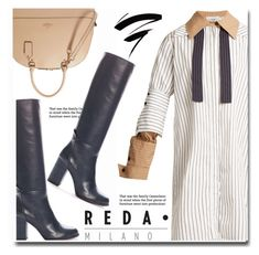 """""""Reda Milano Fashionable Woman's Boots"""" by duma-duma ❤ liked on Polyvore featuring J.W. Anderson"""
