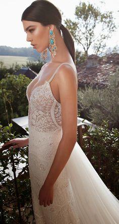 Artistic Wedding Dresses By Berta 2015 Collection http://www.weddingforward.com