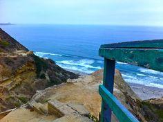 Staircase to heaven, La Jolla SoCal