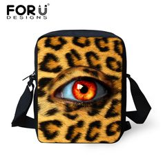 Fashion Mini Satchel Bags Children Unique Big Eye Prints School-bags Little Students School Bags 6 Styles Cross Body Canvas Bags