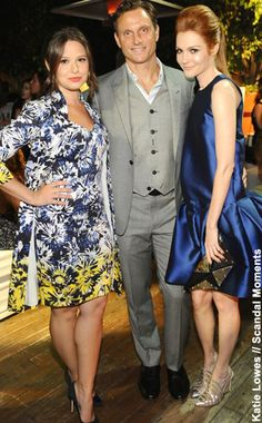 #NewYorkDress Blog //# Scandal Star Katie Lowes in #THEIA // Click through for more photos!