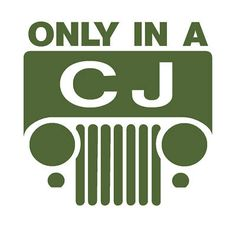 """""""only in a CJ"""" .. The Legend!"""