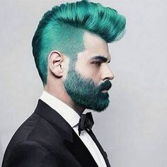 Rainbow hair makes a style statement and you can rock it without a major commitment. Now the brave, bold men of Instagram have created a microtrend within rainbow hair — the merman look.