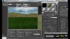 More realistic grass in 3ds Max 2013 grass tutorial