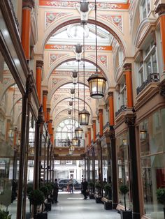 Royal Arcade in London