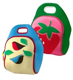 These fun lunch bags are some of our favorites for kids! Made with insulating Ariaprene to keep food at safe temperatures for hours, Dabbawalla lunch bags are a great sustainable addition to your little one's waste-free lunch kit. Unique designs and fun, bright colors make them ideal for kids!