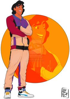 Aladdin. I guess he became one of those parkour guys