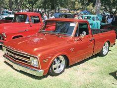 Slick 69 Chevy C10.