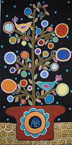 TreeInPot by karlagerard, via Flickr