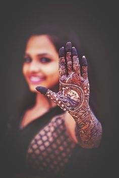 Rajasthani Mehendi with Bride in Design