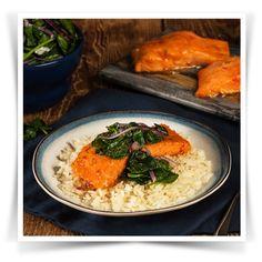 Sweet Chilli Salmon Parcels