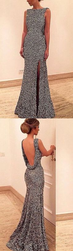 Backless Prom Dress,Split Prom Dress,Fashion Prom Dress,Sexy Party