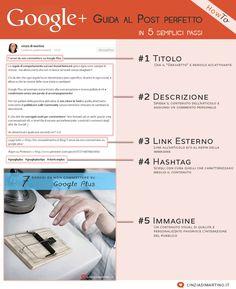Guida al post perfetto su GooglePlus | @cinziadimartino