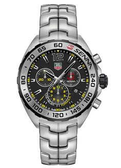 "TAG Heuer Ayrton Senna Watch Resurrected With New Models - by Ariel Adams - read about the history, see the Carrera & Formula 1 models: http://www.ablogtowatch.com/tag-heuer-ayrton-senna-watch-new-models/ ""For 2015, just as TAG Heuer continues to 'make new again' their successful 'Don't Crack Under Pressure' resurrected brand slogan, some interesting models from the past are coming back as well, such as an Ayrton Senna watch - actually a few Ayrton Senna edition watches. These are sporty models"