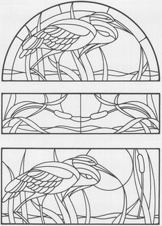 Sidelights, Fanlights and Transoms Stained Glass Pattern Book (Dover Stained Glass Instruction) Glass Painting Patterns, Stained Glass Patterns Free, Painting Templates, Stained Glass Birds, Faux Stained Glass, Stained Glass Designs, Stained Glass Panels, Stained Glass Projects, Mosaic Glass