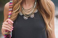 Bauble bar necklace - Twenties Girl Style