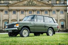 Range Rover Number One