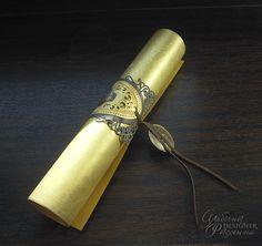 Приглашения на свадьбу ручной работы. Rolling Pin