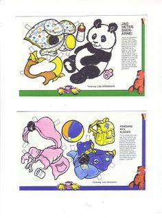 Bonecas de Papel: urso