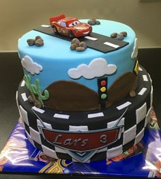 Cars taart, april 2016