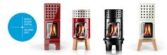Very cool stoves to warm up an individual room ..