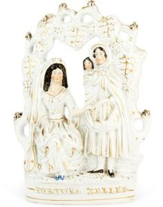 Antique Staffordshire figurine.