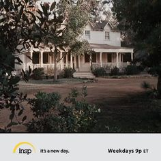 The Walton House. Still today, The Walton's was one of my favorite TV shows.  Great family values!