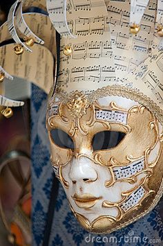 Traditional venetian mask for carnival