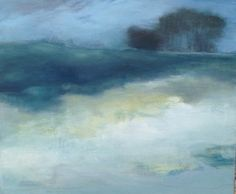Original Landscape Painting 50x60cm / 20x24 by SiobhanLeonard