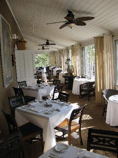 Whistling Swan Inn, Door County Wisconsin Great porch for family dinners