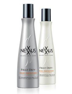 New Nexxus Frizz Defy System weightlessly reduces frizz up to 87%