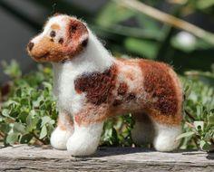 Red Merle Australian Shepherd Stuffed