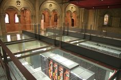 10 Awesome Data Centers Across the Globe - Barcelona Supercomputing Center, Spain Barcelona's supercomputing center has its home in the. Data Center Design, Data Architecture, Computer Center, Glass Roof, It Network, Barcelona Spain, Real Life, Sweet Home, Barcelona