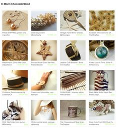In Warm Сhocolate Mood    http://www.etsy.com/treasury/MjAwMjQ2MDh8MjcyMDQ0MzA4NQ/in-warm-hocolate-mood    Welcome to my new Сhocolate treasury...    Please click, comment and share.