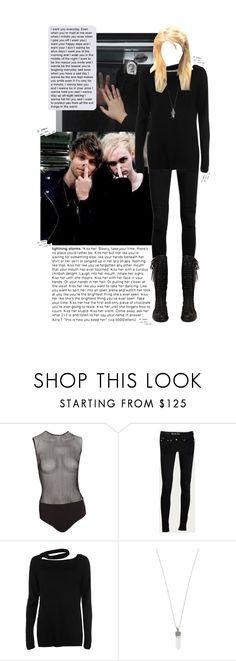 """be a riot, cause I know you"" by avintagemystery ❤ liked on Polyvore featuring Fleur du Mal, C.R.A.F.T., Disturbia, Marc Jacobs and Journee Collection"