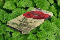 Red Poppy 3D case iPhone 5/5S/5C,4/4S,Samsung Galaxy S5/S4/S3 #iPhonecase #iPhoneCover #3DiPhonecase #3Dcase #S4 #s5 #S5case