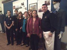OFICINA DE GENERO L.A.M.: Se concretó hoy la visita de una Veterana de Malvi...