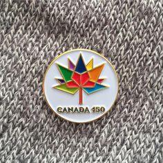 Canada 150 Lapel Pin  #Canada150 #Canada