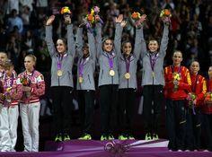 U.S. Women's #Gymnastic Team, Aly Raisman, Gabby Douglas, Jordyn Wieber, McKayla Maroney, Kyla Ross #olympics