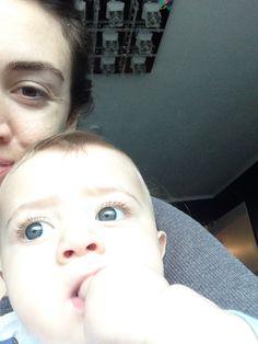 Blue eyes #baby boy