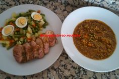 cocina niveles thermomix Good Food, Menu, Kitchen, Recipes, Chocolate, Ideas, Steamed Chicken, Chicken Roll Ups, Lentils