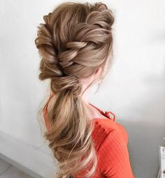 Braided Wedding Hairstyle with updo |