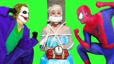 SPIDERMAN vs FROZEN ELSA: Their Son Was Kidnapped Joker - Super Hero Rea...